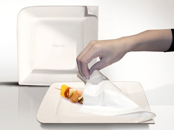 Plate-Oh! Extends the Life of Your Typical Paper Plate By Ten Times