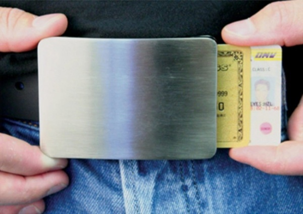 Smart Belt Buckle Wallet