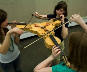 Complicated Music: Triolin Needs Three Violinists to Play in Sync, Backwards