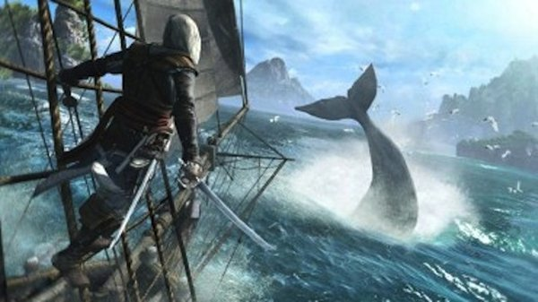 PETA Protests Whaling In Assassin's Creed IV