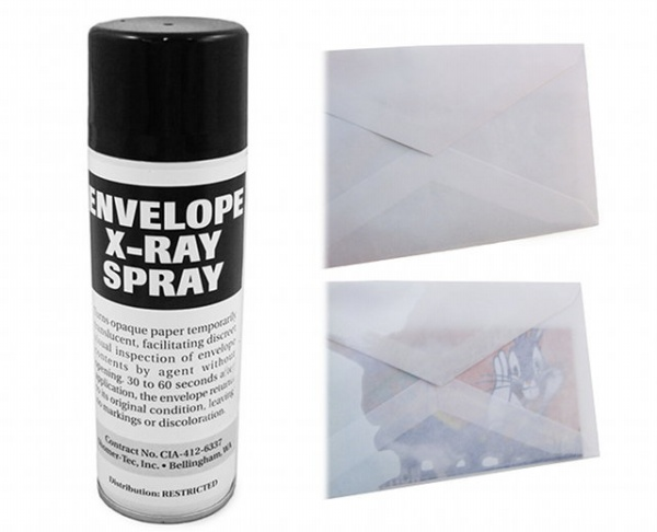 XRay Envelope Spray