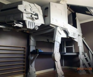 AT-AT Walker Loft Bed for Hothy Dreams