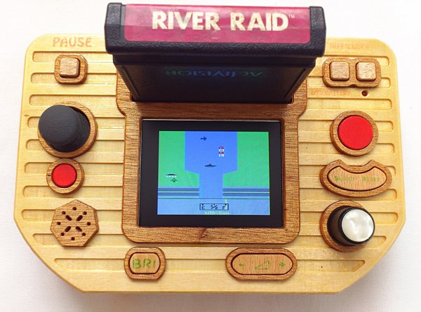 Atari 2600 Portable is Woodier than its Ancestor