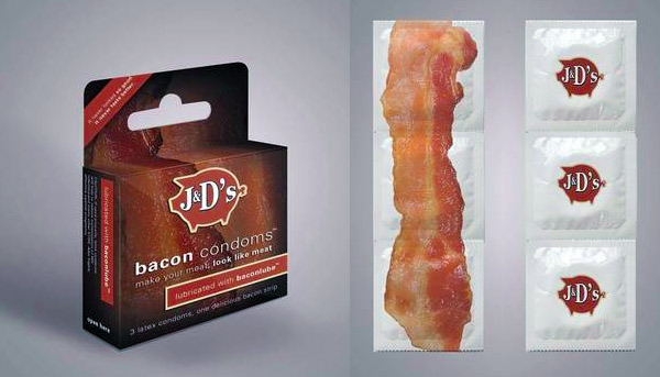 Bacon Condoms: Pork for Her Pleasure