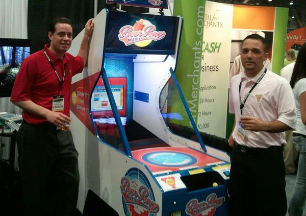 Beer Pong Arcade Machine Skips the Most Critical Component