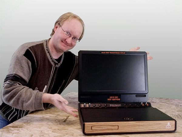 ben heck atari xbox 360 laptop