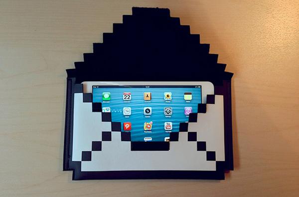 big big pixel ipad mini iphone 5 case sleeve sam photo