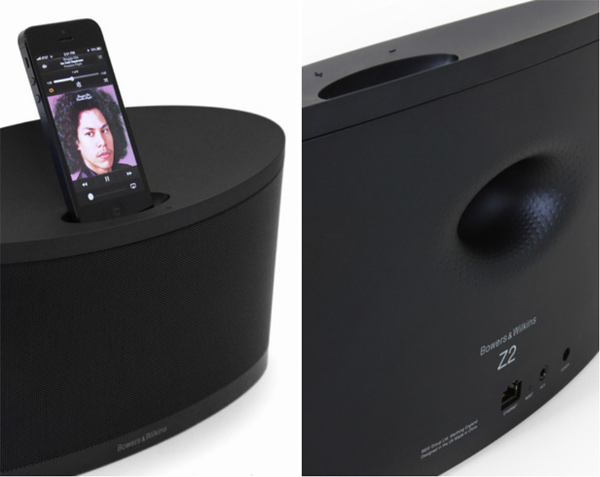 bowers wilkins z2 dock speaker iphone combo