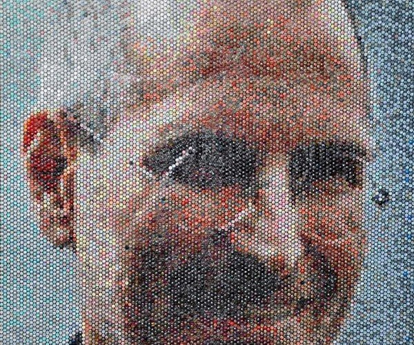 Bubble Wrap Portraits: Pop Art, Literally.