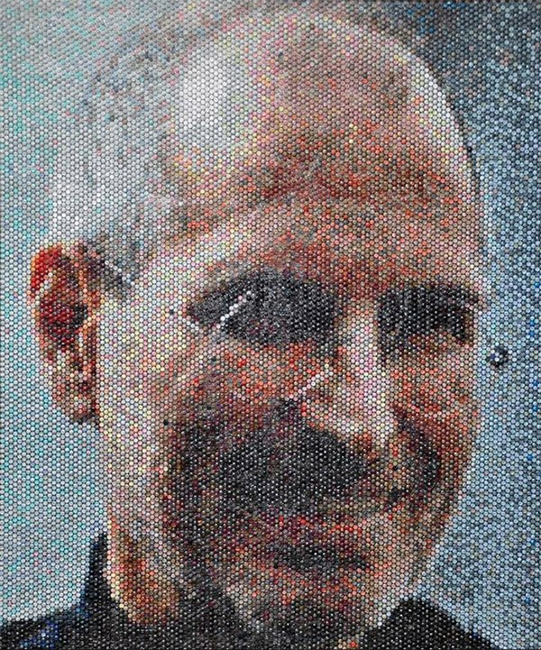 bubble wrap portrait 1