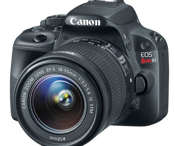 "Canon Unveils ""World's Lightest DSLR"": The EOS Rebel SL1"