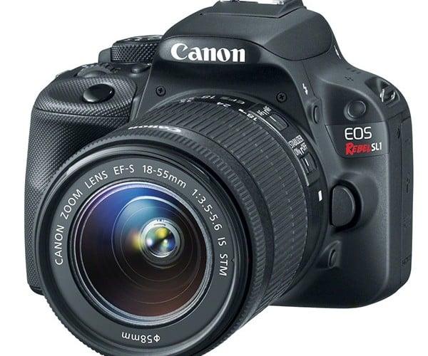 "Canon Unveils ""World's Lightest DSLR"": The EOS Rebel SL1"