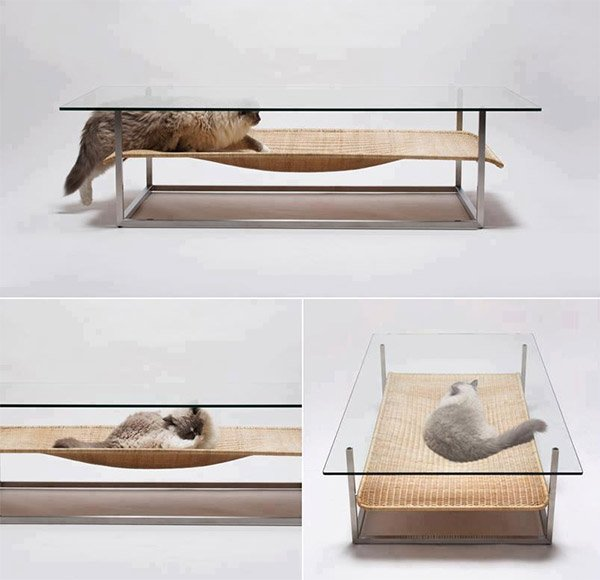 A Coffee Table for Cats - Technabob