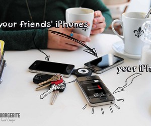 ChargeBite Leeches Power from Other iPhones to Charge Yours, Tells You Who Your Real Friends Are