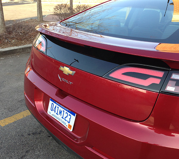 chevy volt rear