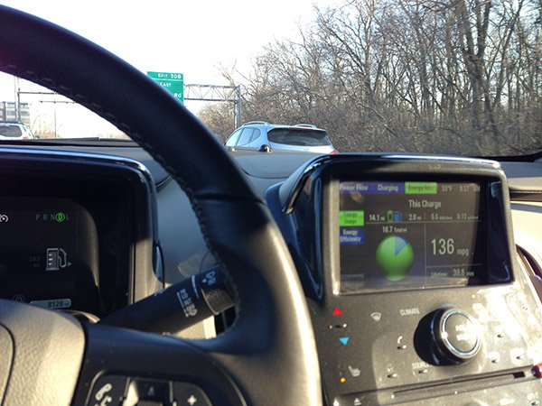 chevy volt road trip