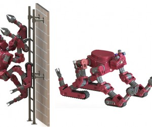 "CHIMP ""Humanoid"" Rescue Robot to Climb Ladders, Transform into a Tank"