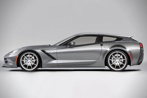 Corvette Stingray Shooting Brake Aerowagon: Grab Your Groceries at 190 MPH