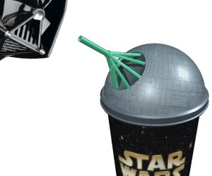 Death Star Slurpee: Use the Spoonstraw, Luke!