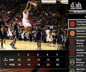 Dish Hopper DVR System Offers Basketball Fans Sweet App Updates