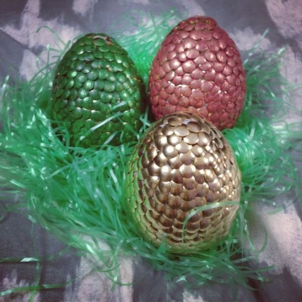 Make Your Own Game of Thrones Dragon Easter Eggs