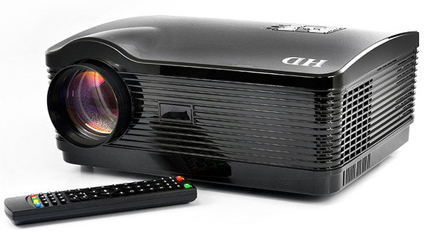 DroidBeam LED Projector Has Android 4.1 Jelly Bean Built In