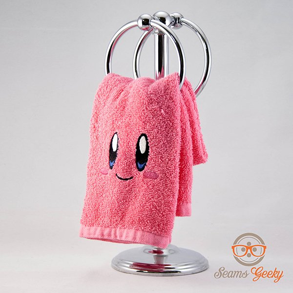 geeky hand towels by seams geeky