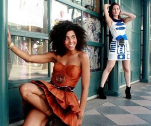 C-3PO Dress: Be a Droid out on the Town