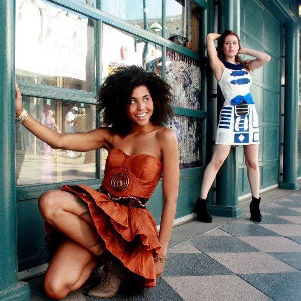 geekyu c-3po star wars dress photo