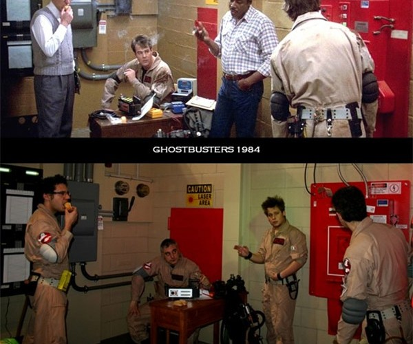 Fan Builds Replica of Ghostbusters Basement