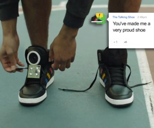 Google Concept Shoes Can Talk, Still Can't Tie Their Own Laces