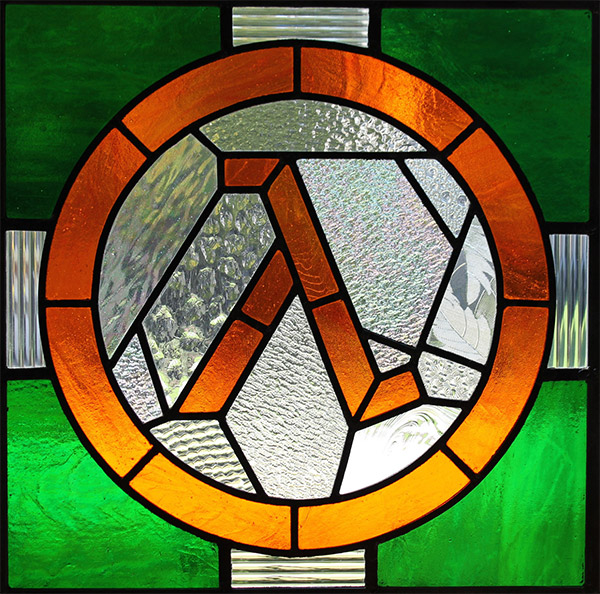 half life stained glass