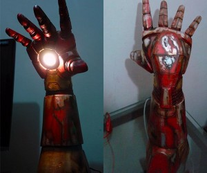 Iron Man Repulsor Desk Lamp: Stark out of the Dark