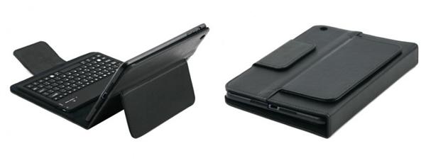 ipad mini leather bluetooth keyboard folio case closed photo