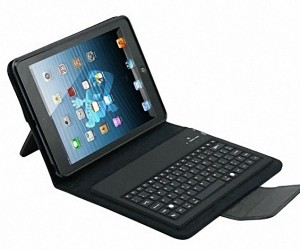 iPad Mini Leather Bluetooth Keyboard Case: GTD on Tiny Keys