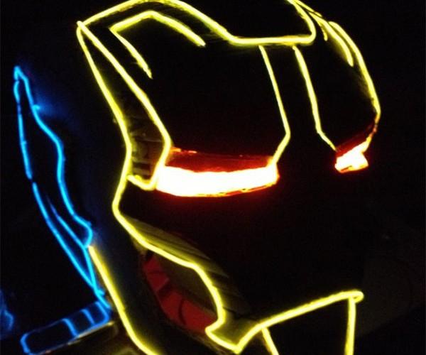Iron Man + TRON = TRON Man