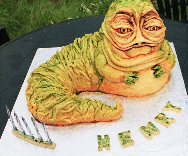 Jabba the Hutt Cake Makes Me Jabba the Hungry