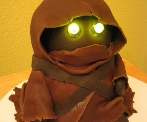 Jawa Birthday Cake: Fresh-Baked from Tatooine