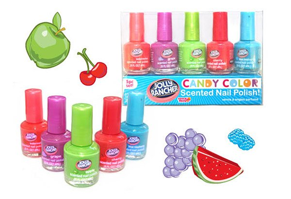 jolly rancher nail polish