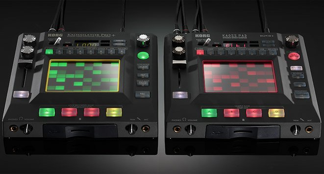 Korg Kaoss KP3+ and Kaossilator Pro+ Synth Specs, Price and Release Date Announced