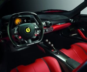laferrari ferrari supercar inside 300x250