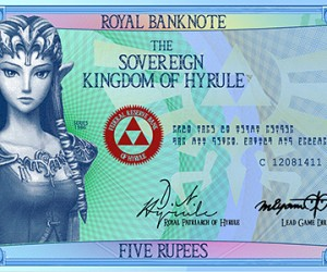legend of zelda hylian banknotes by G33k1nd159153 2 300x250