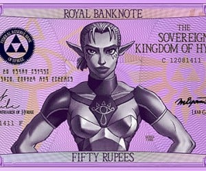 legend of zelda hylian banknotes by G33k1nd159153 4 300x250