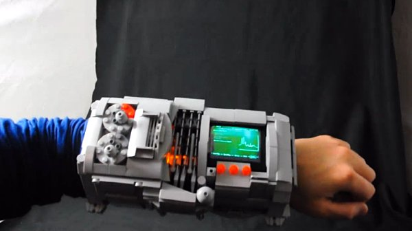 lego fallout pip boy 3000 by simon liu