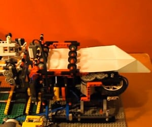 LEGO Machine Folds & Launches Paper Planes, is Having More Fun Than You Are