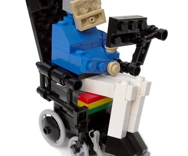 LEGO Stephen Hawking Kit: A Small Replica of Man