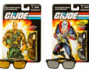 G.I. Joe Action Sunglasses Mint on Card: Seeing is Half the Battle