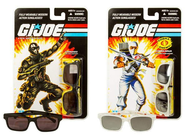 8b392af117 G.I. Joe Action Sunglasses Mint on Card  Seeing is Half the Battle -  Technabob