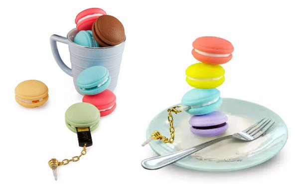 French Macaron Flash Drives Look Good Enough to Eat, But Don't Try.