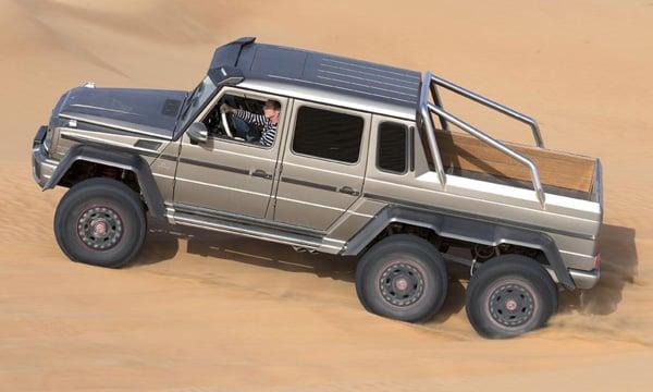 mercedes benz g63 6x6 jeep desert photo